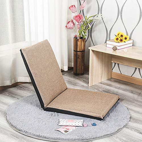 AiHerb.LO JL HX Canapé Paresseux Intérieur Pliable Tatami Simple Coussin Lit Lit Petit Fauteuil Chaise Baie Chaise Chaise Amovible Et Lavable A+ (Couleur : B, Taille : Small)