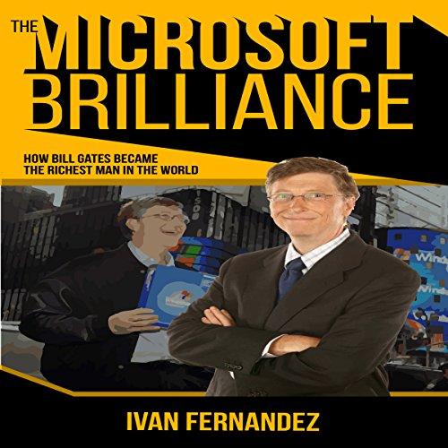 The Microsoft Brilliance audiobook cover art