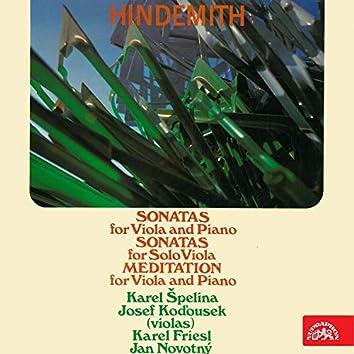 Hindemith: Viola Sonatas