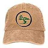 Baseball Hat Bonsai Tree2 Gorra De Béisbol De Mezclilla Hombres Mujeres Gorra De Béisbol Sombreros De Camionero Compras Duradero Ajustable Clásico Protección Solar Hip Hop Sombrer