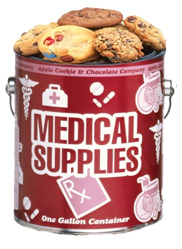 Medical Supplies Cookie Gallon - Chocolate Chip Baked Fresh by Apple Cookie & Chocolate Co