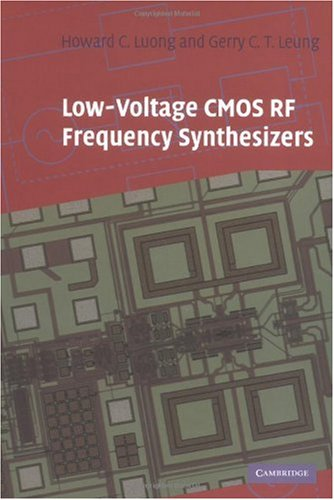 Low-Voltage CMOS RF Frequency Synthesizers (English Edition)