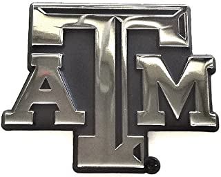 Texas A&M Metal Auto Emblem - Modern