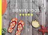 BIENVENIDOS: LIBRO DE REGISTRO DE HUÉSPEDES | INCLUYE TODOS LOS DATOS DEL VIAJERO EXIGIDOS POR LEY | PARTES DE VIAJEROS | AIRBNB | ALQUILER VACACIONAL.