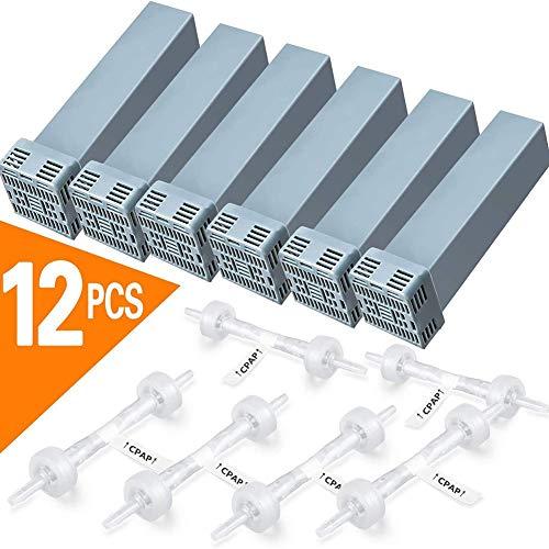 NOLO Filterpatrone Filter,CPAP-Filter Ersatz for Soclean Inklusive 6 Kerzenfilter und 6 Rückschlagventile
