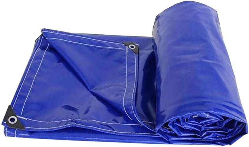 LIAN Couverture de bache imperméable Bleue 550g   m2 très Robuste (Taille   4x6m)