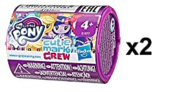 Pack of 2 Blind Packs Each pack has a pony, seapony, or Equestria Girls character figure Series 2 is 'Friendship Party' Themed Includes collector card to help tell character's story. Stackable case Collect all 24 figure and accessory pairs, Age 4+