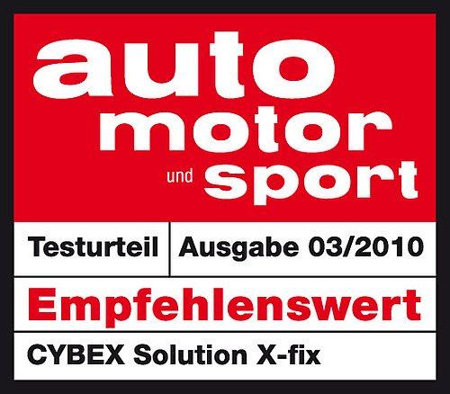 Cybex Solution X-Fix - Silla de coche grupo 2/3, para coches con y sin ISOFIX, 15-36kg, desde los 3 hasta los 12 a?os aprox., Negro (Pure Black)