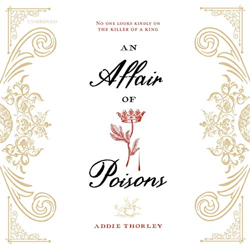An Affair of Poisons audiobook cover art