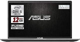 Asus Vivobook SLIM, SSD da 500 Gb, Cpu Intel i5 di 10th GEN. 4 Core, 12Gb DDR4, Display da 15,6 FULL HD, wi-fi, 4 Usb, Bt,...