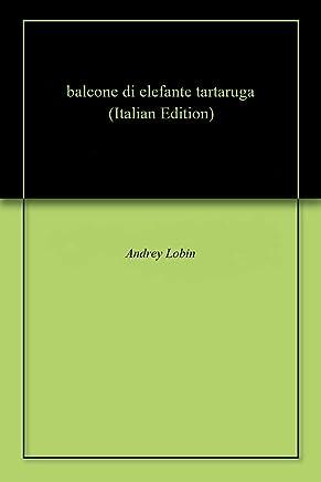 balcone di elefante tartaruga