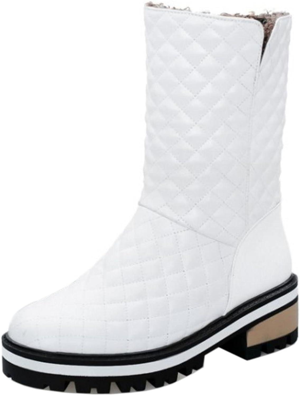 AicciAizzi Women Warm Inner Winter Boots Pull on