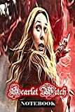 Scarlet Witch: Wanda Maximoff Marvel Women Superhero Notebook Journal 6 x 9 Inches...