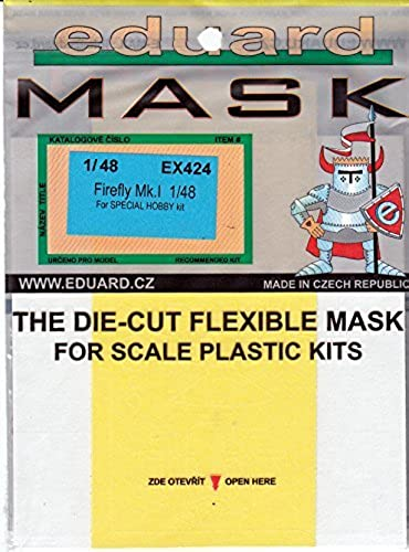 hasta un 65% de descuento EDUEX424 1 48 Eduard Mask - - - Firefly Mk.I (for use with the Special Hobby model kit) MODEL KIT ACCESSORY by Eduard  los clientes primero