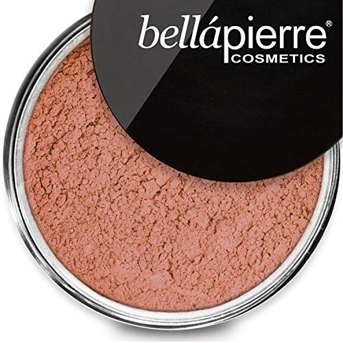 bellapierre Mineral Blush Warms Complexion for a Healthy Glow | Non-Toxic and Paraben Free | Suitable for All Skin Types | Loose Powder - 0.3-Ounce