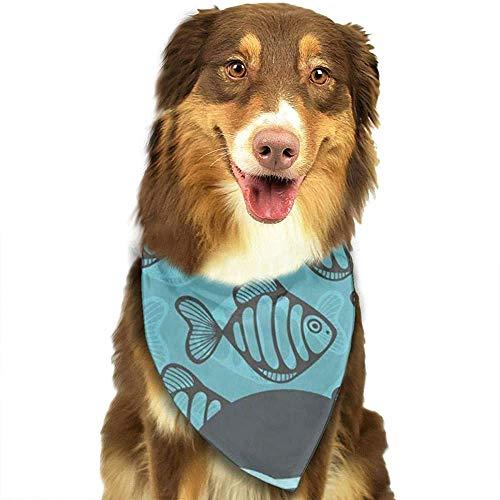 YAGEAD Pañuelo para Perros Cachorro y pañuelos para Mascotas, Cabeza Negra Chica Joven y Bonita Vestido de Cabello Creativo de Mujer Afro Bufanda Colorida para Mascotas