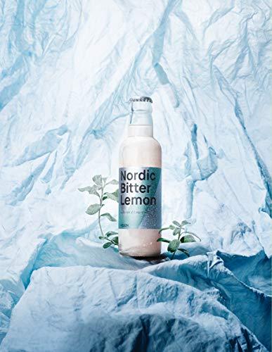 VEEN Nordic Bitter Lemon – 24x 200ml - herbe Limonade in Glasflaschen, Club Soda aus Finnland für hochwertigen Gin und Wodka, Longdrink Mix-Getränk aus Quellwasser