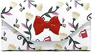 Studio Ghibli Kiki's Delivery Service Floral Bow Trifold Snap Wallet