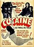 Keen Vintage Cocaine Propaganda Wall Poster...