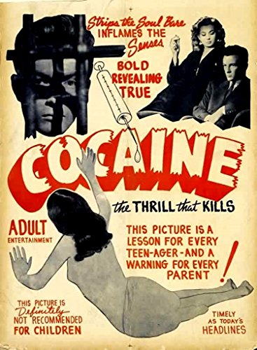 Keen Vintage Cocaine Propaganda Wall Poster Print|12 X 18 in Poster|KCP22