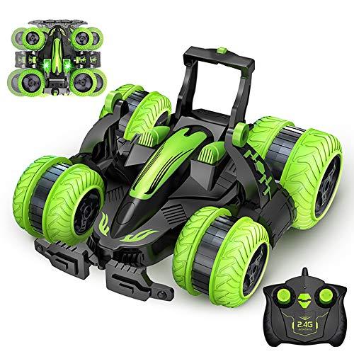 LZH FILTER Coche RC, 4CH Stunt Drift Deformation Buggy Car, Rock Crawler Roll Car, Coche teledirigido del Robot de los niños del tirón de 360 Grados, Juguetes para Regalar