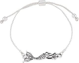 World End Imports Mermaid Slide Bracelet