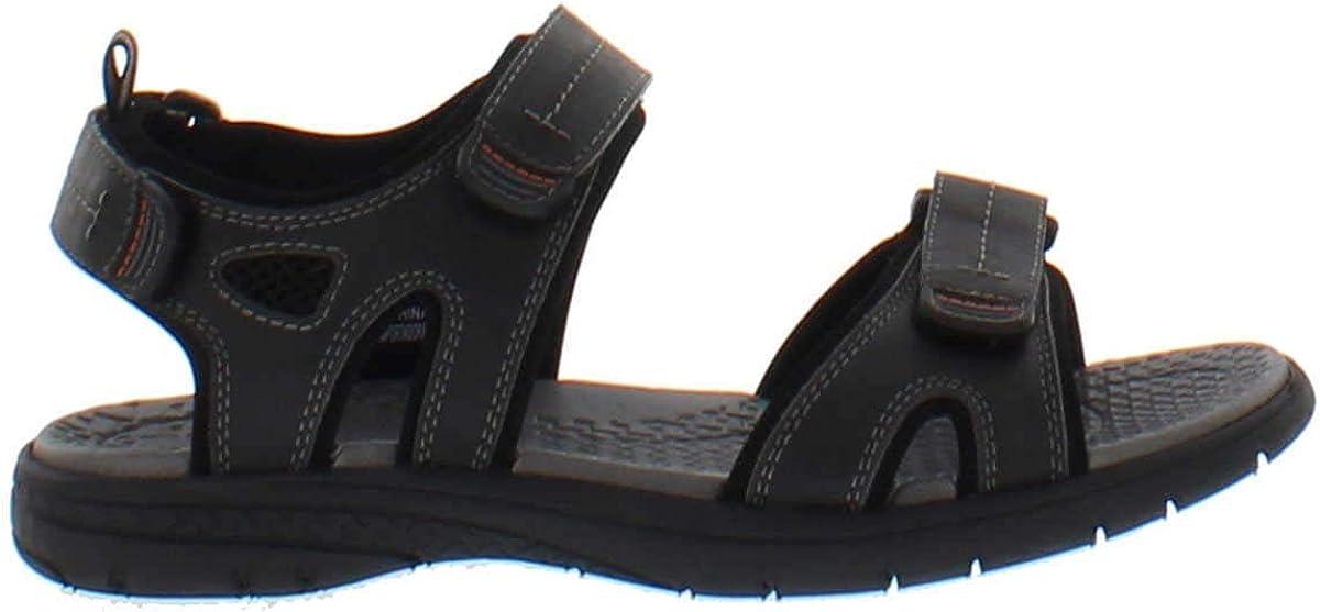Khombu Men's Black River EVA Sandal Shoes
