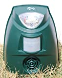 Cleanrth TSBR620 Super Advanced Sonic/Ultrasonic Bird Repeller w/Triple Scan Technology