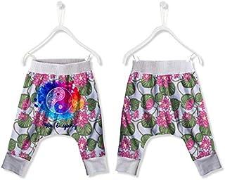 FISHIKII   Pantalón de chándal Baggy Verano Yin Yang - 100% Poliéster - Primavera/Verano 2020 - Niña    