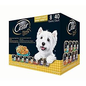 Cesar Home Delights Wet Dog Food, Variety Pack (3.5 Oz., 40 Ct.)