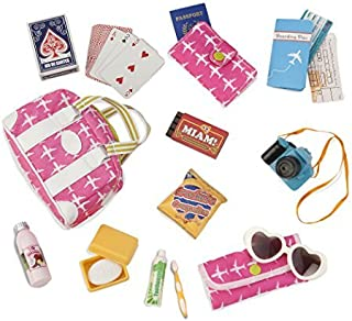 "Our Generation- Bon Voyage Travel Set-Vacation Travel Bag with Accessories for 18"" Dolls - Bon Voyage by Age 3 Years & Up"