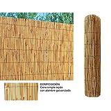 Comercial Candela Cañizo de Bambu Pelado 1x5 Metros