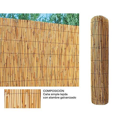 Comercial Candela Cañizo de Bambu Pelado 1,5x5 Metros