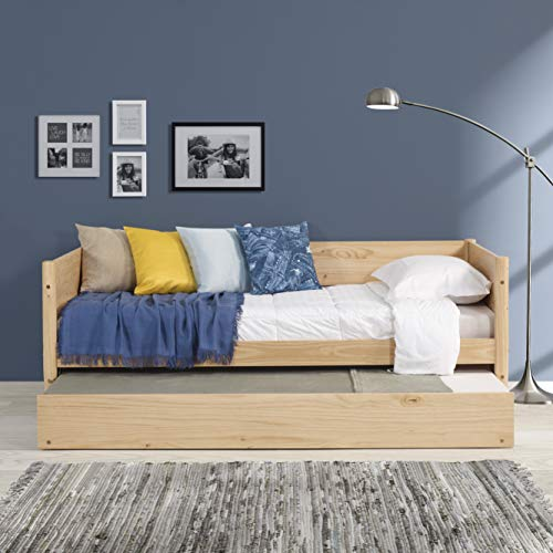 Camaflexi Mid-Century Daybed, Single, Scandinavian Oak