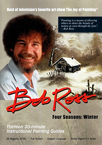 Bob Ross - The Joy of Painting: Winter Collection (3 DVDs)