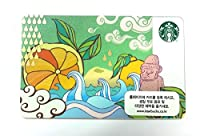 Starbucks Limited Edition新しい& Unswiped Collectibleギフトカード済州島