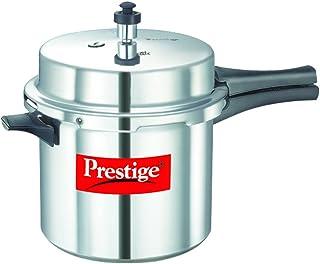 Prestige MPP26100 Popular Pressure Cooker, Multi-Colour, W 36.0 x H 24.4 x D 24.2 cm, 6 Litres, Aluminium