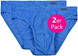 Ammann - 2er-Pack Herren Mini Slip ''Cotton & More'' Saphir (blau) 8