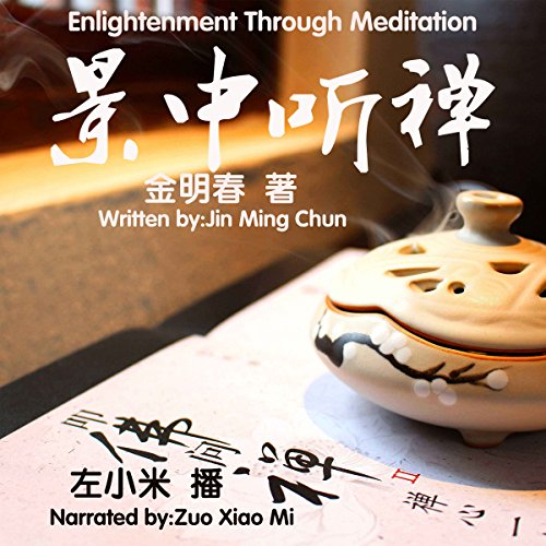 景中听禅 - 景中聽禪 [Enlightenment Through Meditation] audiobook cover art