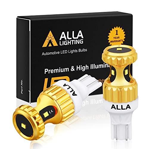 Alla Lighting 3000lm ZES 912 921 LED Reverse Lights Bulbs Xtreme Super Bright 12V SMD T10 T15 906...