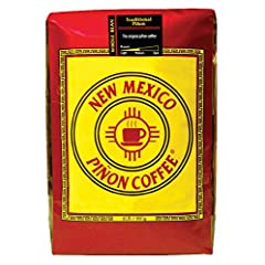 Smooth and mellow medium roast coffee with natural flavoring Notes of nuttiness from our natural piñon flavoring Multi-bean blend of the finest high-altitude Arabica coffee Carefully crafted at our roastery in Albuquerque, New Mexico Includes one who...