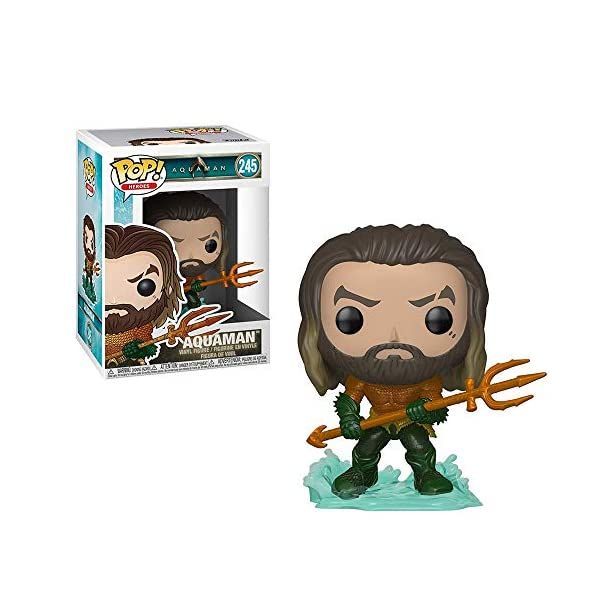 Funko – Pop.Color DC Color Aquaman: Arthur Curry de Hero Suit,, 31177 2