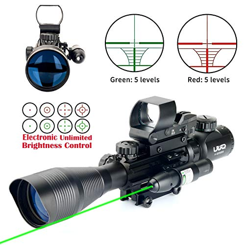 UUQ C4-12X50 Tactical Holographic Dot Reflex Sight