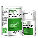 Irem Under Eye Cream - Reduces the appearance of Dark circles, Puffy eyes, Wrinkles, Fine lines and...
