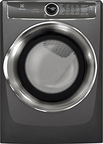 Electrolux EFMG627UTT 27 Inch Gas Dryer with 8 cu. ft. Capacity, in Titanium
