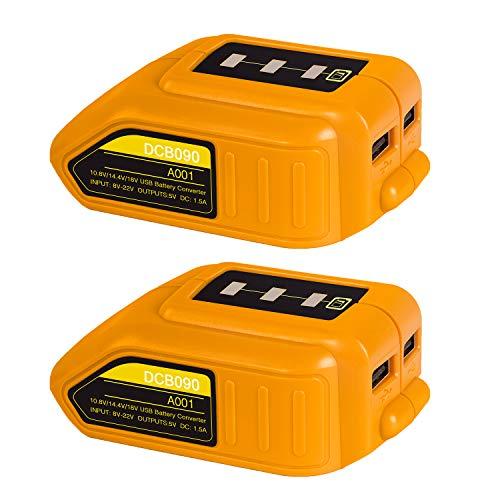 Bslite DCB090 12V/20V Max USB Power Source adapter...