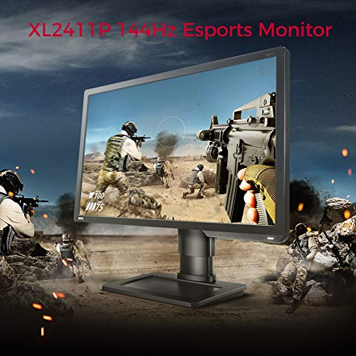 BenQ Zowie XL2731 27 inch 144Hz Gaming Monitor | 1080p 1ms | Black Equalizer & Color Vibrance for Competitive Edge | Height Adjustable Stand