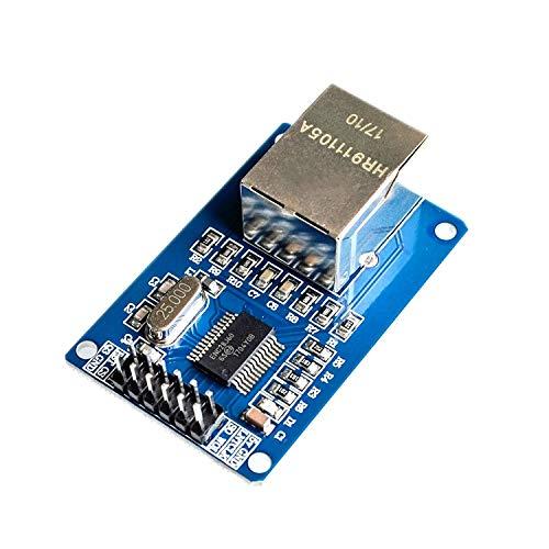 ARCELI ENC28J60 LAN Ethernet Netzwerkkarte Modul 25 MHz Kristall AVR 51 LPC STM32 3,3 V