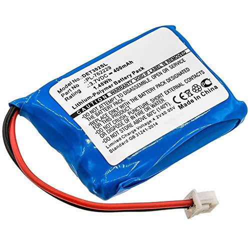 subtel® Qualitäts Akku kompatibel mit Educator ET-300 / ET-302 / ET-402 (Ferntrainer, Halsband), PL-762229,V2015-E05 400mAh Ersatzakku Batterie