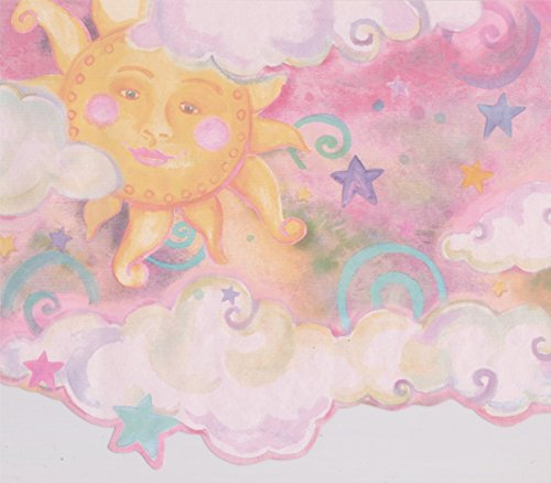 Cloud Wallpaper Border - 3